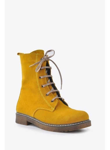 Vizon Ayakkabı Bot Sarı
